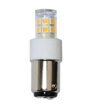 TIBELEC Ampoule LED B15 2.5W 245lm 230V pour machine a coudre