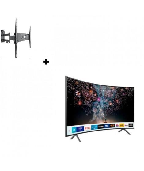 SAMSUNG UE65RU7372 TV LED 4K UHD + MELICONI Curved 400DR