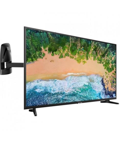 Samsung UE43NU7092KXXC TV LED - 4K UHD - 43'' (108 cm) Smart TV - 2 x HDMI + MELICONI MB400 MOTION Support mural pour TV de 4…