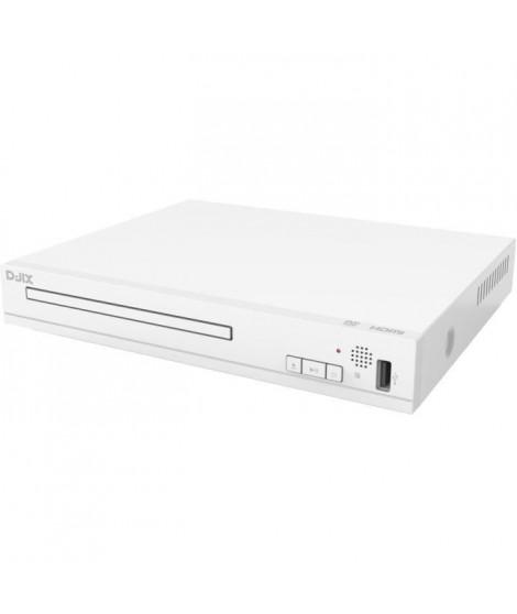 D-JIX HOMEPLAY 11 Lecteur DVD de salon HDMI - Full HD - Blanc