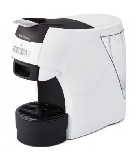 ARIETE 1301 Machine a café espresso + dosette ESE - 1100 W - 15 Bars - Blanc