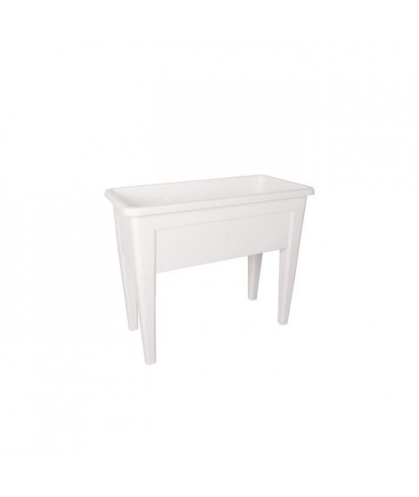 ARTEVASI Table de Culture Venezia - 39 x 80 x H 69 cm - Blanc