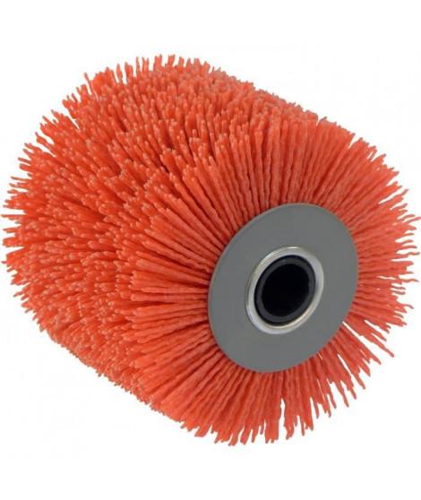 FARTOOLS Brosse nylon fil abrasif rouge pour rex120c et rex200