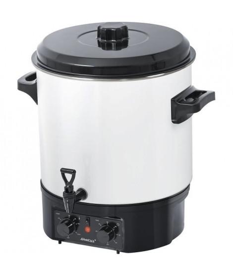 STEBA 051100 ER1 Stérilisateur 27 L - 1800 W - Réglage de la température 30 / 100° C - Blanc