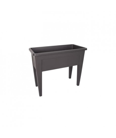 ARTEVASI Table de Culture Venezia - 39 x 80 x H 69 cm - Gris anthracite