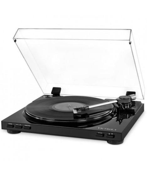 VICTROLA Pro Platine Vinile Semi-Automatique USB - Vinyle a MP3 - Noir