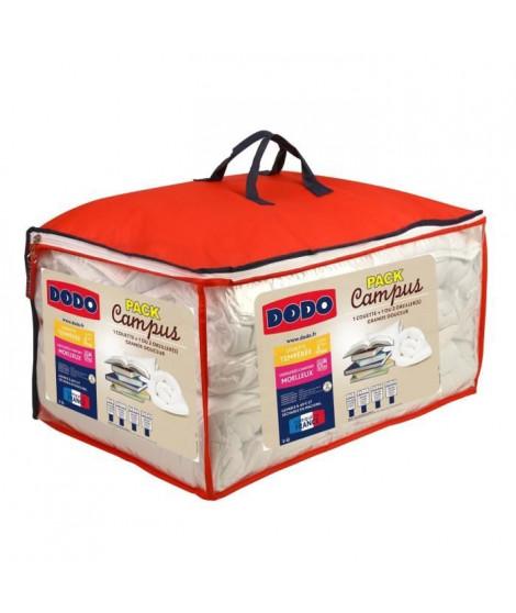 Pack CAMPUS 1 Couette tempérée 140x200cm + 1 Oreiller 60x60 cm