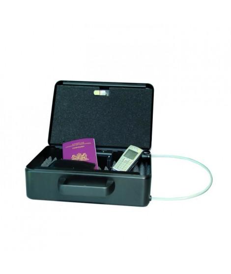 Coffre-fort avec alarme Mobi-Guard 3 - 9,5x24,7 cm - Noir