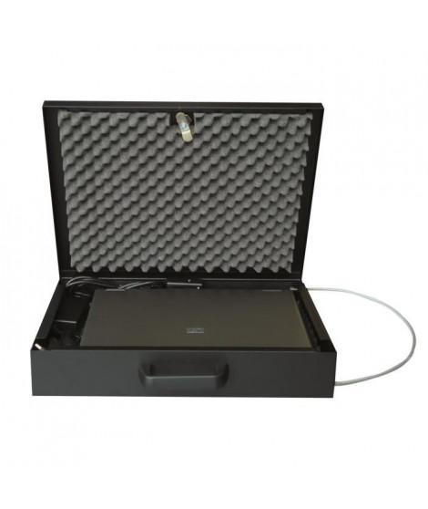 Coffre-fort avec alarme Mobi-Guard 6 - 41x34 cm - Noir
