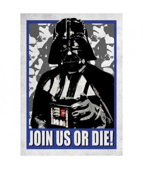 Poster métallique Star Wars Galactic Propaganda : Join Us or Die