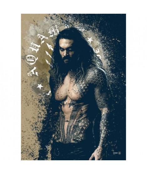 Poster métallique Justice League : Aquaman