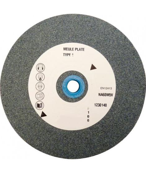 PEUGEOT  Meule Corindon gris 150x25x32 mm Grain 60 + bague