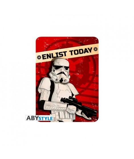 Plaque en métal Star Wars - Enlist today (28x38) - ABYstyle