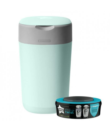 Tommee Tippee - Poubelle a couches Twist & Click - Vert