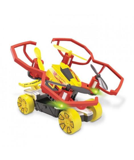 MONDO - Hot Wheels - Pack 2 en 1 - Drone + Véhicule - compatible pistes Hot Wheels - Garçon - Mixte - A partir de 3 ans