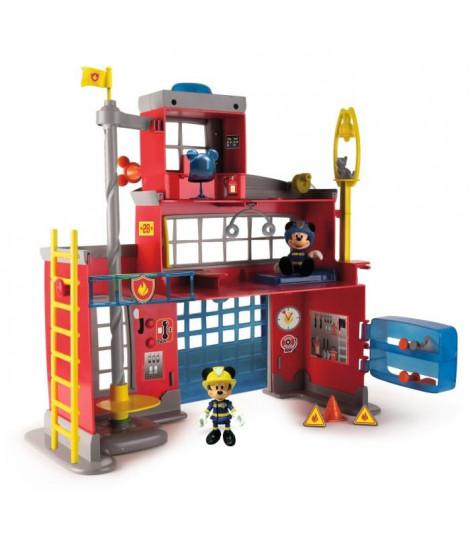 IMC TOYS Caserne de pompiers avec fonction IMT Mickey