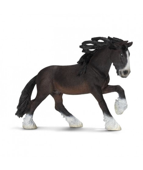 Schleich Figurine 13734 - Animal de la ferme - Etalon Shire