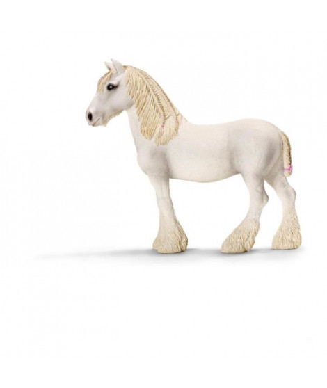 Schleich Figurine 13735 - Animal de la ferme - Jument Shire