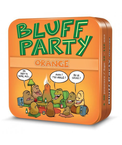 ASMODEE - Bluff Party - Pack Orange - Jeu de société