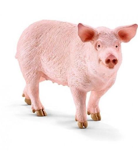 Schleich Figurine 13782 - Animal de la ferme - Cochon