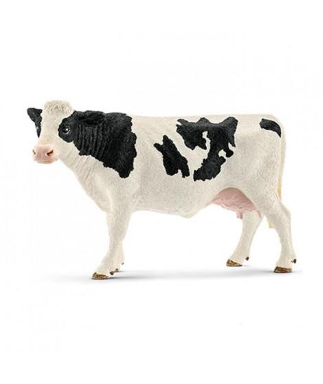 Schleich Figurine 13797 - Animal de la ferme - Vache Holstein