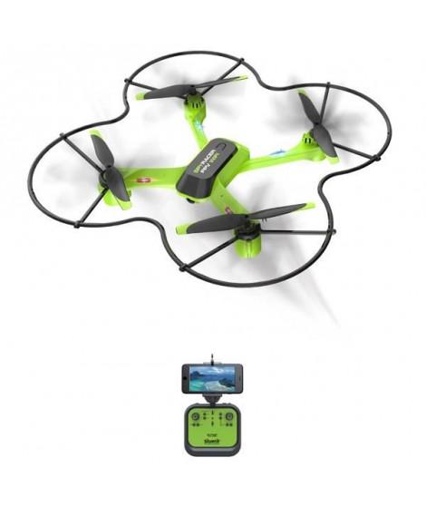 SILVERLIT - Drone Télécommandé Spy Racer Wifi - 2,4 Ghz