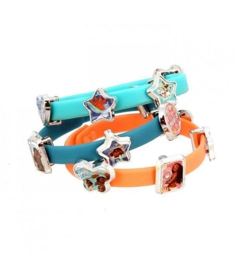 VAIANA 3 Bracelets Et 18 Charms