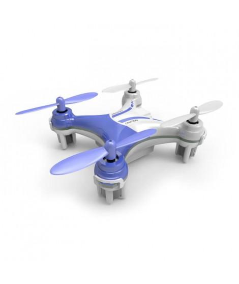 SILVERLIT - Mini Drone Télécommandé NanoXCopter - 6 CM - Bleu