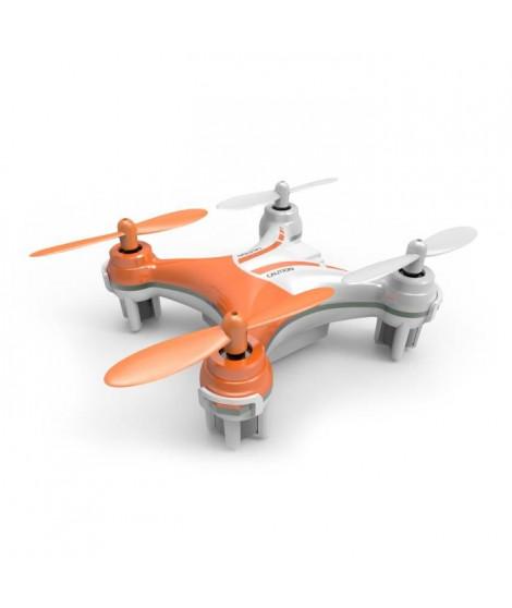 SILVERLIT - Drone Télécommandé NanoXCopter - 6 CM - Orange