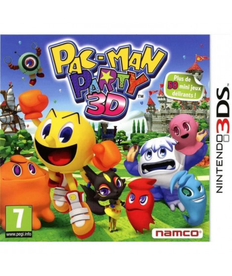 Pac-Man Party 3D Jeu 3DS