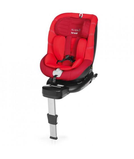 BREVI - Alain i-size Siege auto Pivotant 0-19 kg - couleur rouge/Cerise