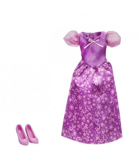 DISNEY PRINCESSES - Robe et Chaussures VIOLET - Vetement pour Poupées 30cm