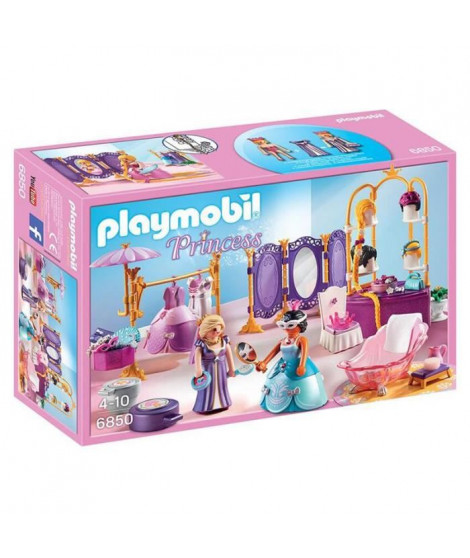 PLAYMOBIL 6850 - Princess - Salon de Beauté avec Princesses