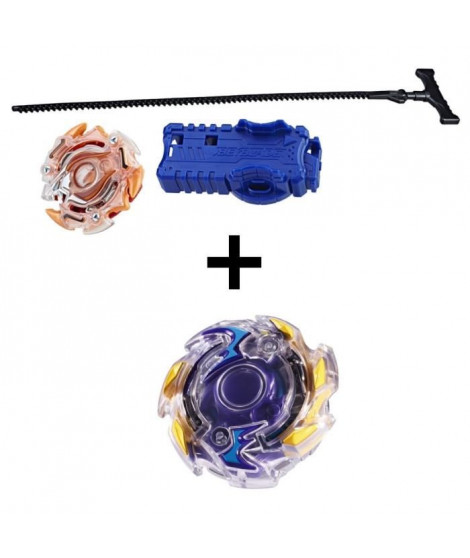 BEYBLADE BURST - Starter Pack IFRITOR + Toupie Single Top WYVRON