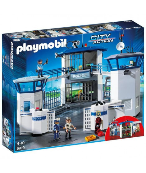 PLAYMOBIL 6919 - City Action - Commissariat de Police avec Prison