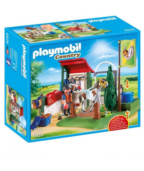 PLAYMOBIL 6929 - Country - Box de Lavage pour Chevaux