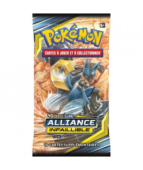 POKEMON Soleil et Lune 10 - Alliance infaillible - Booster SL10 - 10 cartes Pokémon - Modele aléatoire