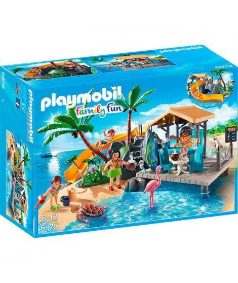 PLAYMOBIL 6979 - Family Fun - Ile avec Vacanciers