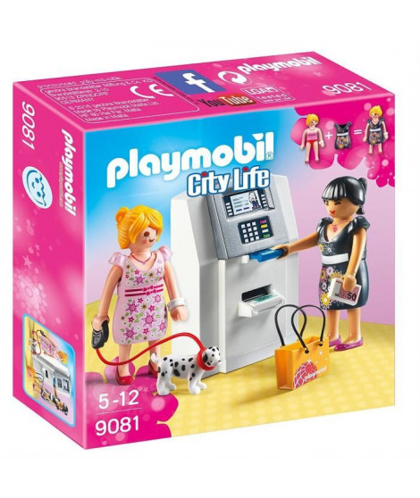 PLAYMOBIL 9081 - City Life - Distributeur Automatique