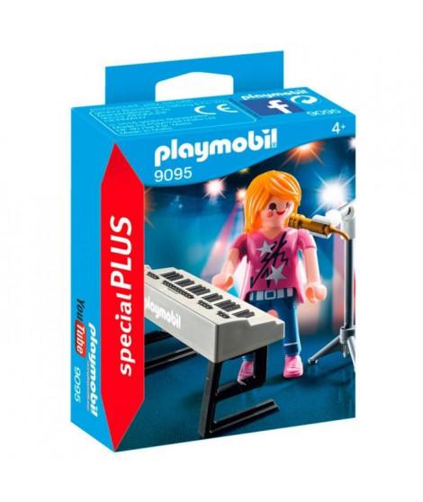 PLAYMOBIL 9095 - Chanteuse avec Micro et Synthé