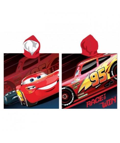 CARS Poncho Microfibre - 55 x 110 cm - Rouge