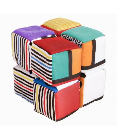 BABY EINSTEIN Cubes aux couleurs contrastées Infinity Block - Multicolore