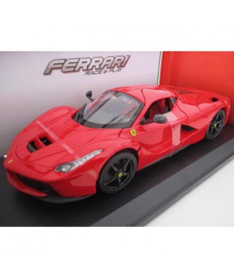 BBURAGO Véhicule miniature Ferrari en métal LaFerrari a l'échelle 1/18eme