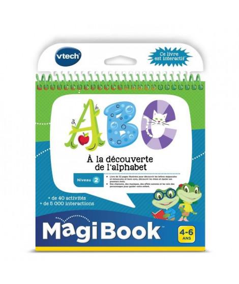 VTECH - Livre Interactif Magibook - ABC, a La Découverte De L'Alphabet