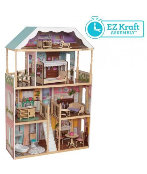 KIDKRAFT Maison de poupées Charlotte - En bois