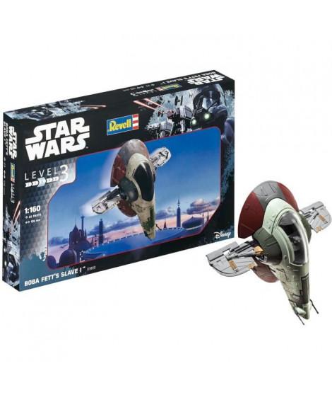 REVELL SW Boba Fett's Slave I 03610 Maquette Star Wars
