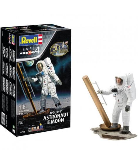 """REVELL Maquette Espace Apollo 11 """"Astronaute sur la lune"""" 03702 Coffret cadeau"""