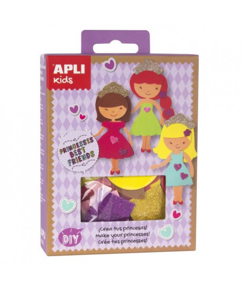 APLI Mini kit crée ta princesse - En mousse EVA