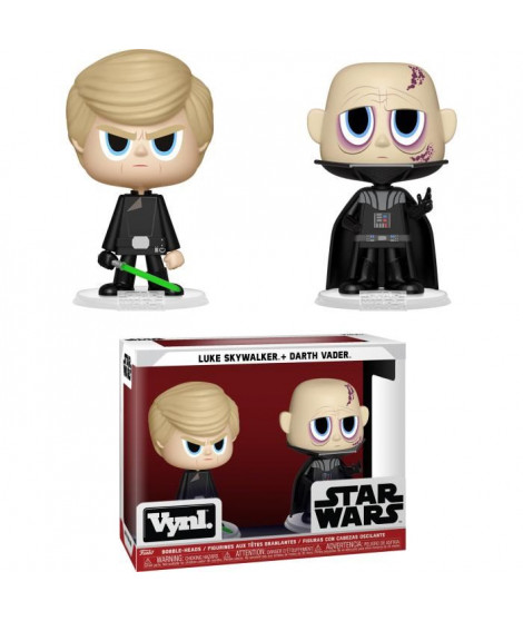 Figurines Funko Vynl: Darth Vader & Luke Skywalker (ROTJ)