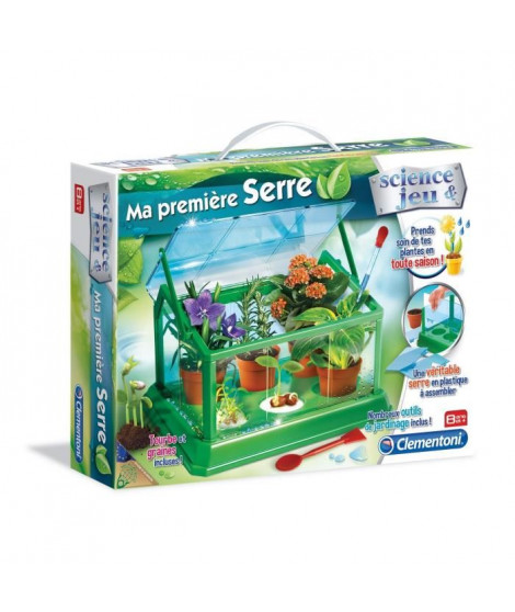 CLEMENTONI Science & Jeu - Ma premiere serre - Jeu scientifique